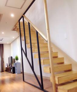 JEJU #Eden House  距离机场10分钟 #济州岛  # 伊甸复式公寓 - Jeju-si - Huoneisto