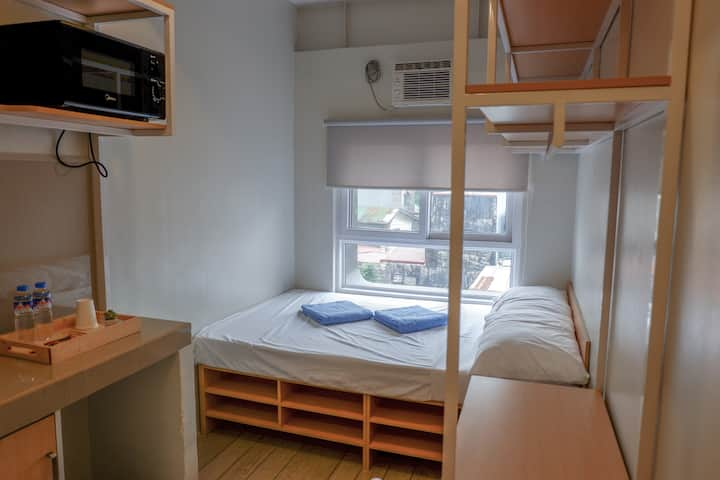 EST: Fully Furnished Studio for 2 near Makati CBD