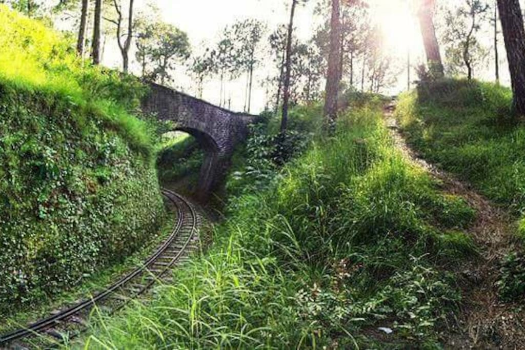 Heritage Railway track in vicinity
