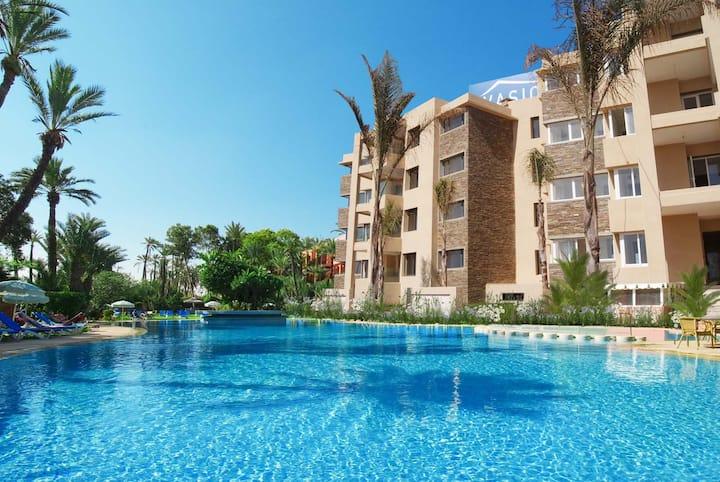 Appt de LUXE avec piscine privée à Bouznika PLAGE