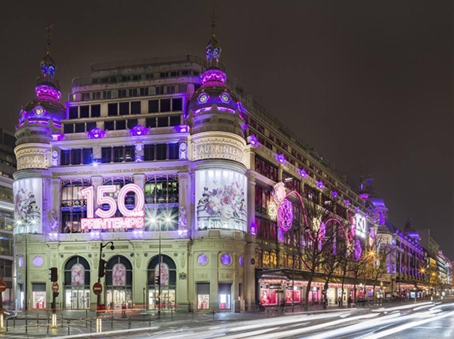 150 ans Printemps Haussmann Paris