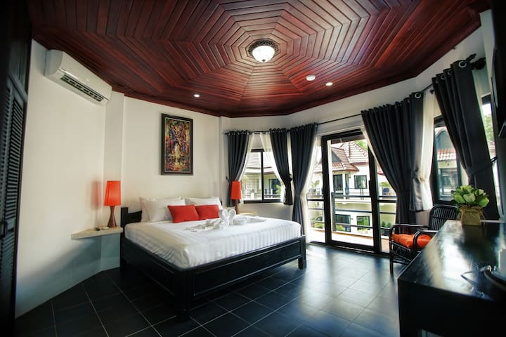 Private Double Room with Pool View