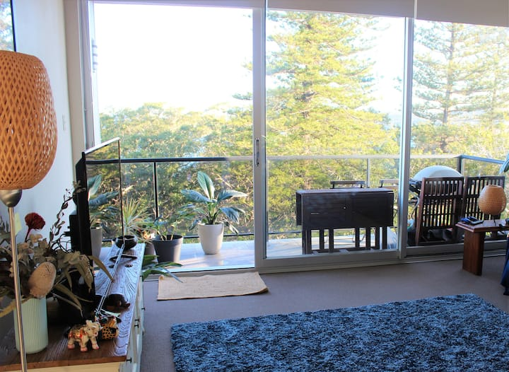 Green views in perfectly located Manly two bedroom