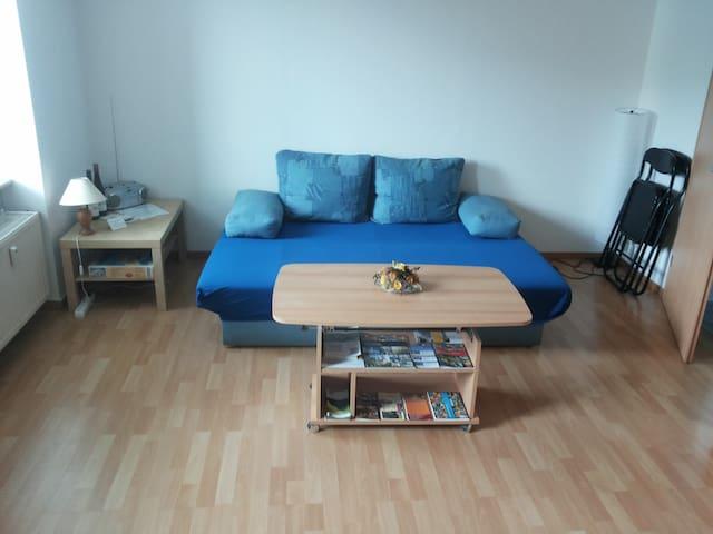 1-Raum-Wohnung mit Küche und Bad