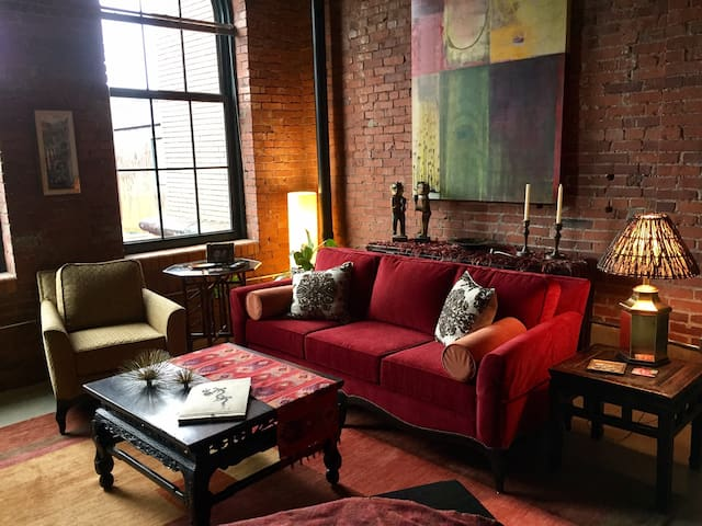 Luxury Historic Riverfront Loft w/Pool + More