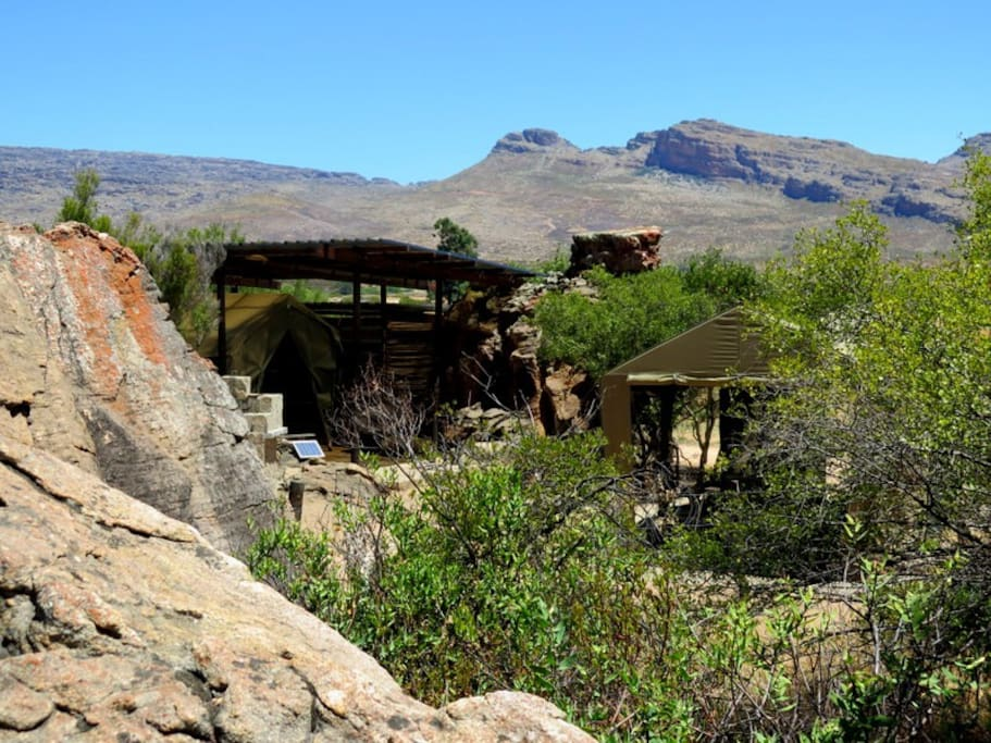 Set on the edge of the majestic Cederberg bush.