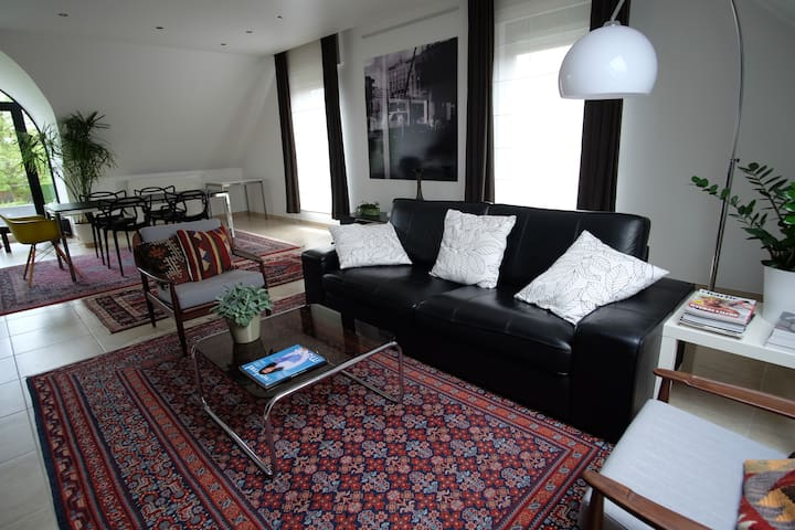 Design apartment close to Brussels!