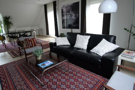 Design apartment close to Brussels and Mechelen