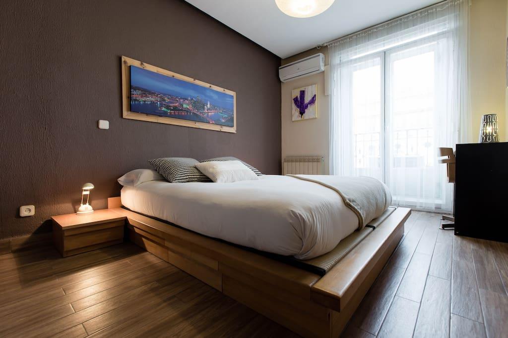 4 habitaciones centro appartamenti in affitto a madrid for Habitaciones en madrid