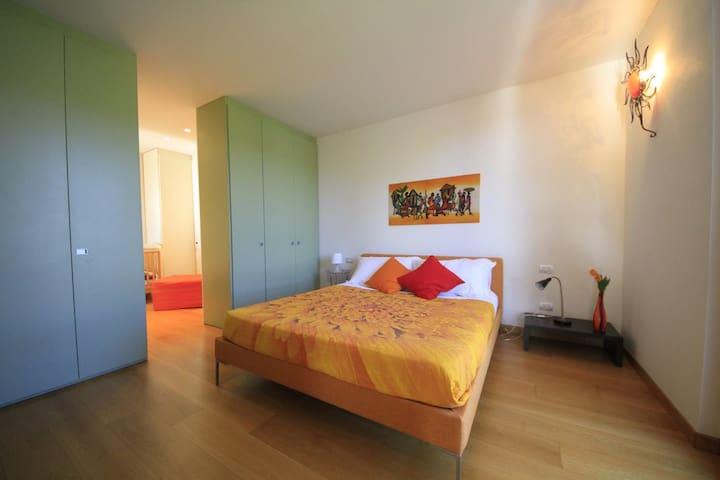 Suite Baldo  B&B La Mondina - Palazzolo Vercellese - ที่พักพร้อมอาหารเช้า