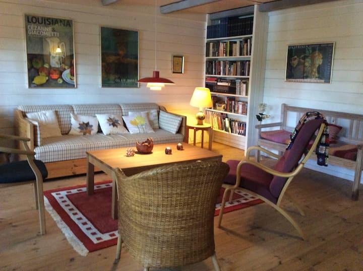 Fredfyldt sommerhus ved Øjesø