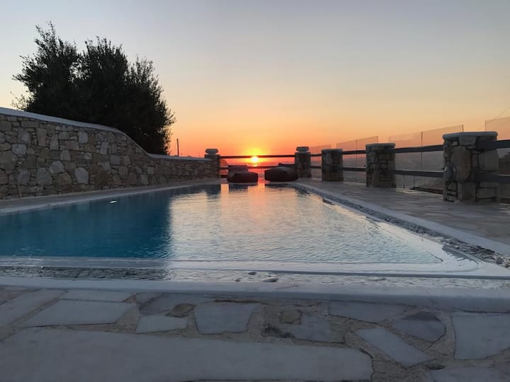 C.L.S Cavo Delos ,Private Pool - Sunset View