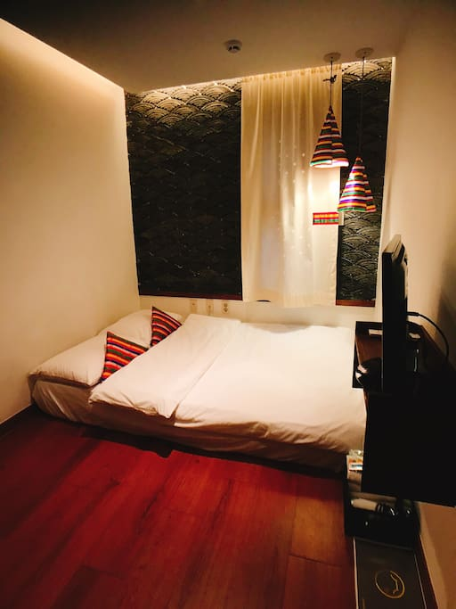 2인실 아늑한 공간 Double Room and Private Bathroom