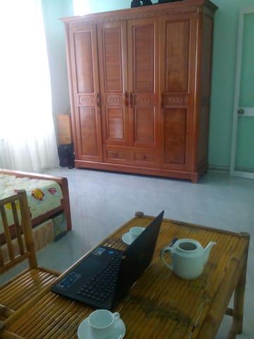 2 velos gratuits avec votre chambre - An Hải Bắc - Dům