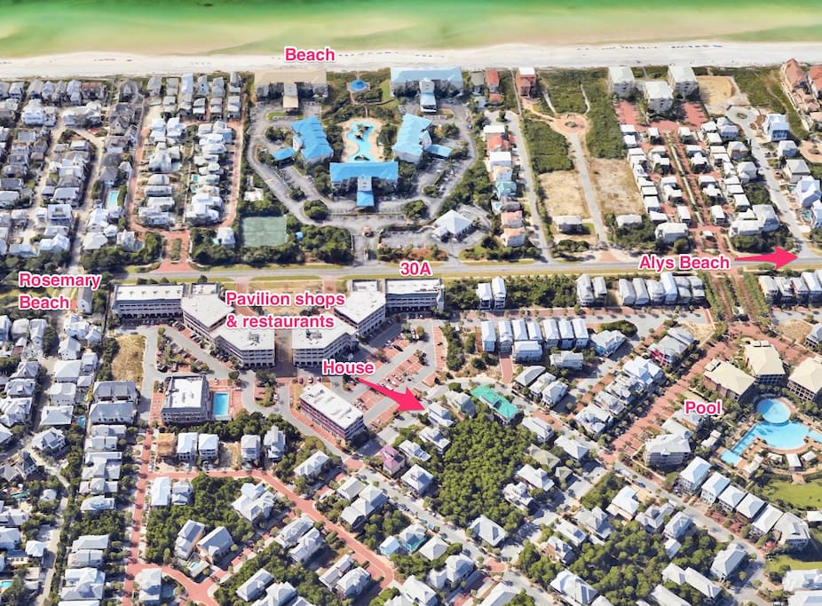 Centrally located to all the 30A fun!