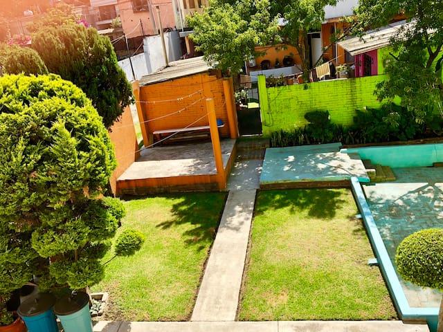 Habitación en Xochimilco / Embarcadero y el Bosque