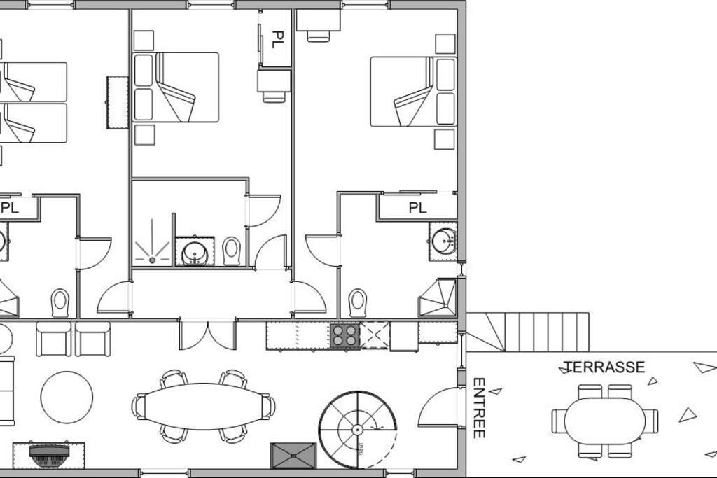 Plan de l'appartement mis à votre disposition