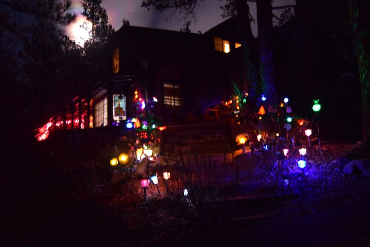 MAGIC CASTLE IN ENCHANTED EVERGREEN FOREST - Big Bear Lake - House