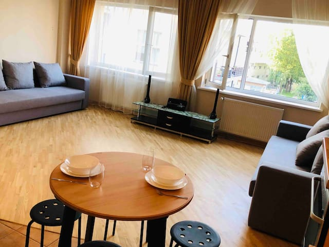 Studio for four 10min from Riga Old Town