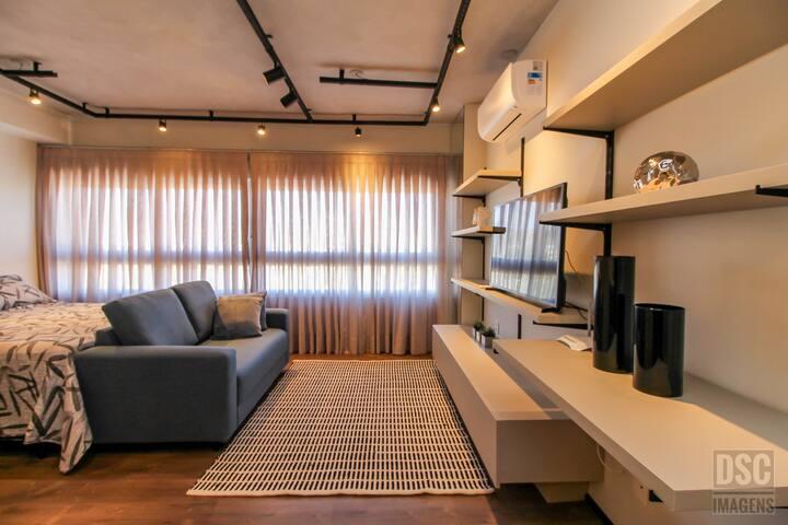 Apartamento Completo Próximo a PUCRS Com Vista