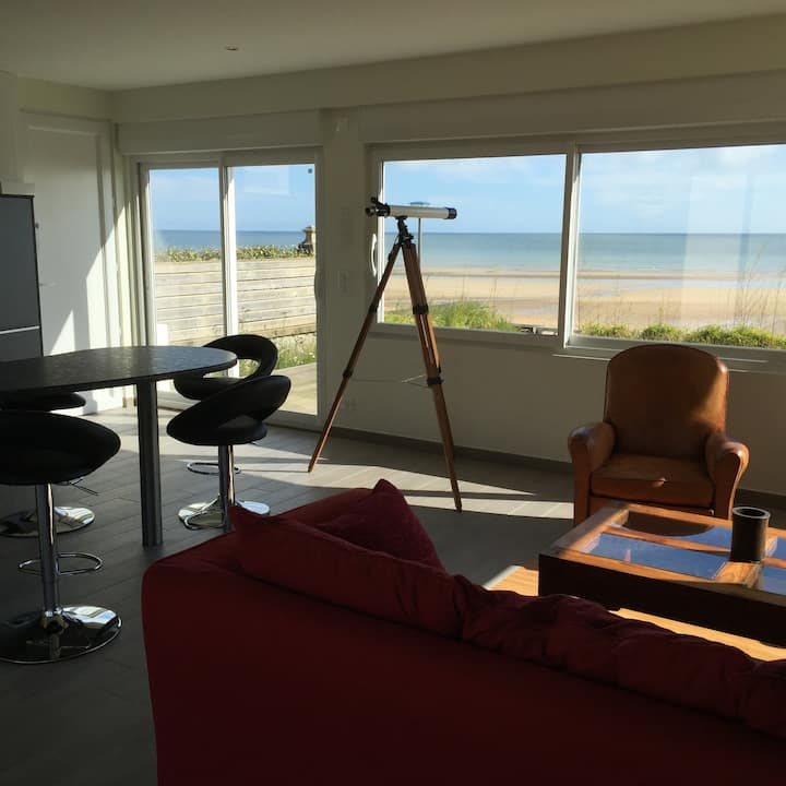 Beach house in Hermanville - right on D day beach