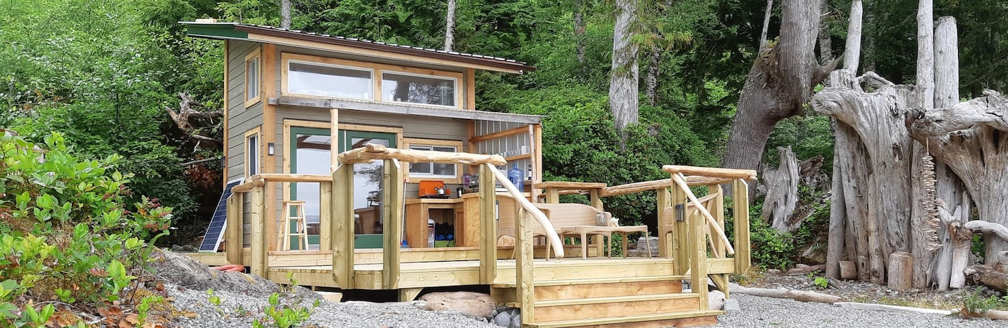 Remote Ocean Front Glamping (The  Sea Shack)
