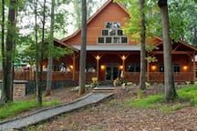 Our lodge-style winery is host to many weddings and events.