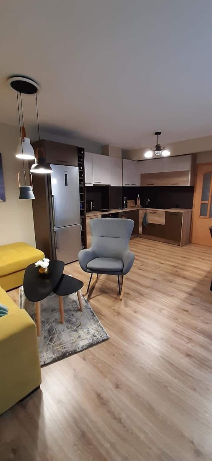 Industrial style- guest apartment