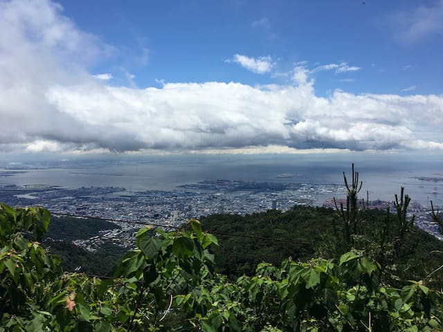 Mt.Rokko Beautiful view house - 神戸市