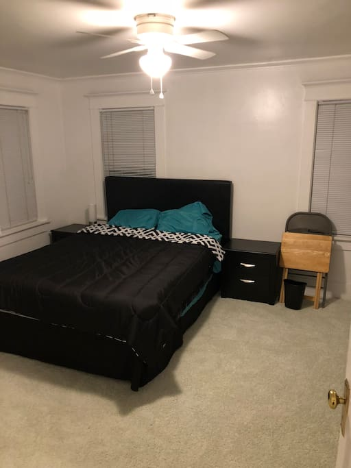 Private Room with a Queen Bed