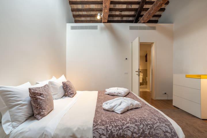 Bedrooom #1 with Comfortable queen size bed