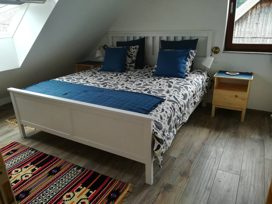 Main room. Bed 180*200