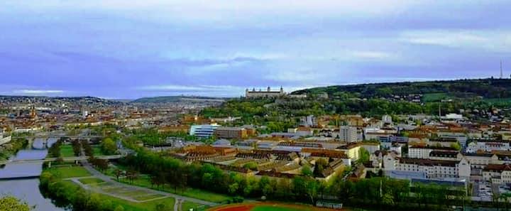Wohnung mit Festung Blick In der Stadtmitte