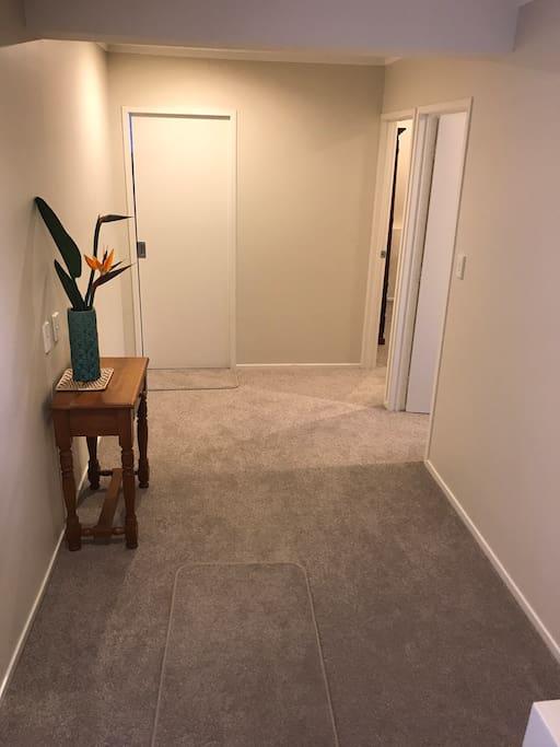 Bedroom hall entrance.