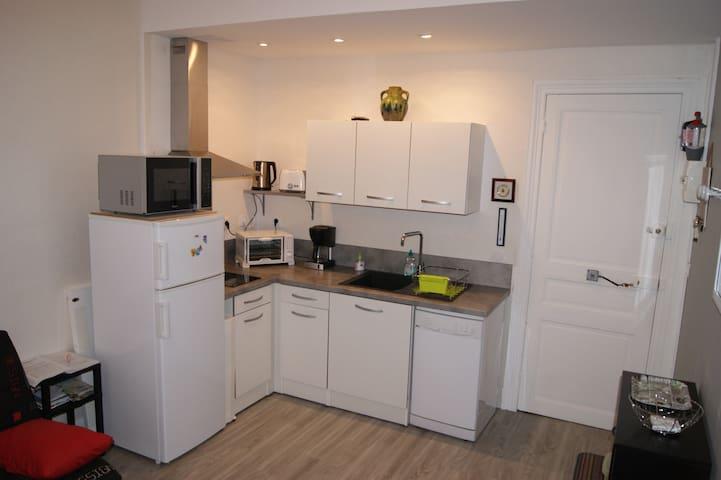 Appart  6 couchages 36 m² très lumineux,tarif cure