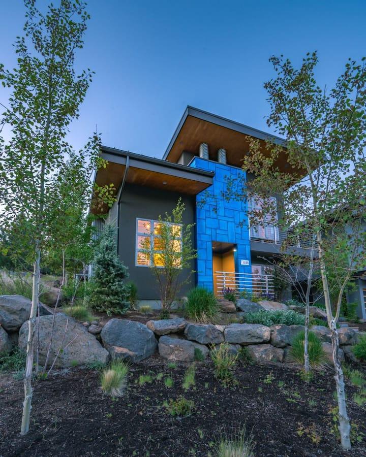 Bluebird Day - Obsidian - Modern Industrial - Westside Home