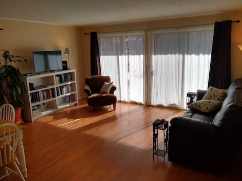 300 yrd to Bay/Gulf, 5min S of I10, 1BR/BA Suite