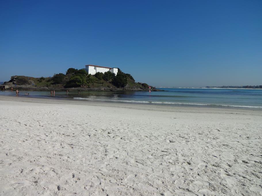 spiaggia da sogno di Praia do Forte