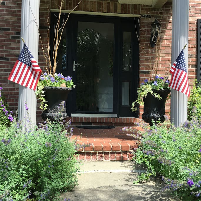 Front Entry. #merica