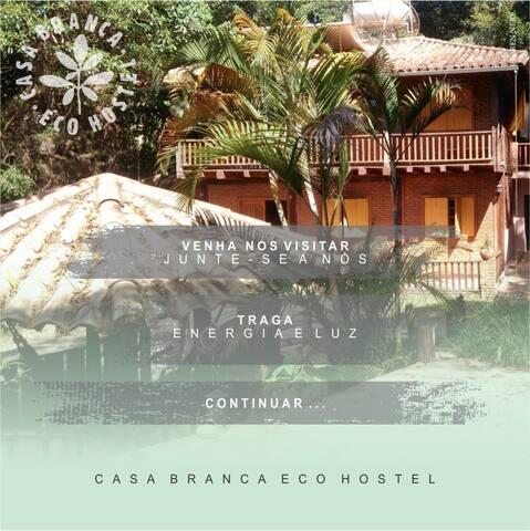 Venha desfrutar da natureza no CB Eco Hostel