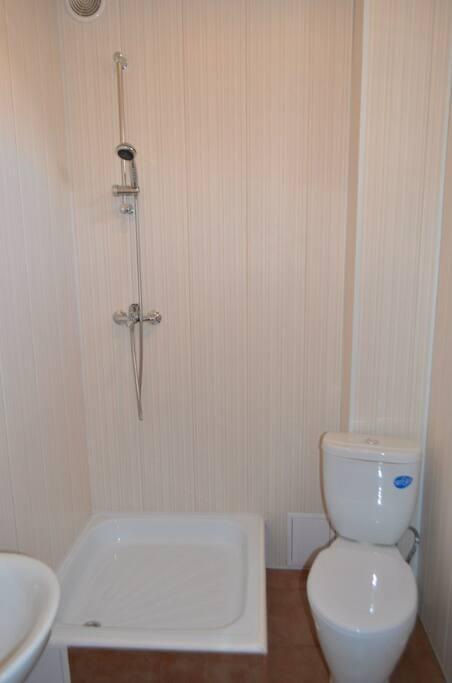 Туалет с душем в VIP номере на 2 человек на 4 этаже