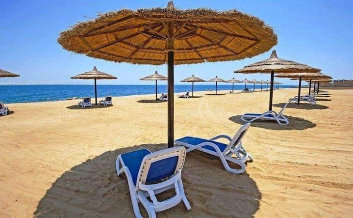 Sea view apartment  Privet beach