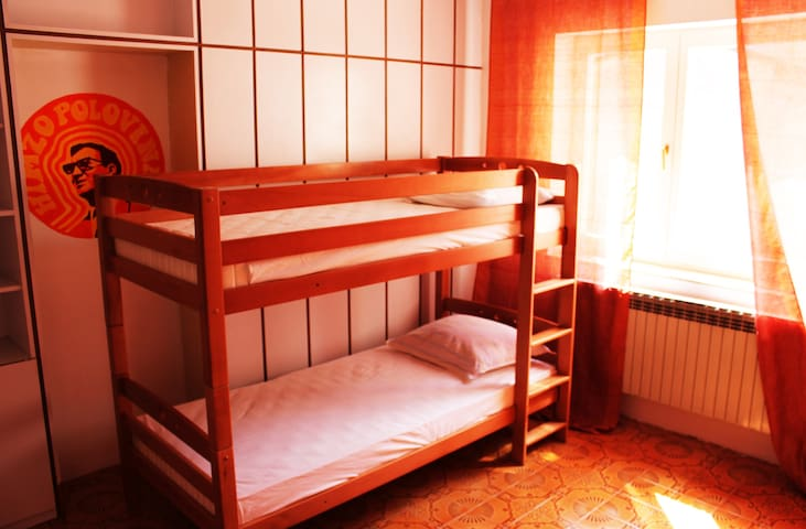 4 bed dorm in a boutique hostel (1) - Mostar - Bed & Breakfast