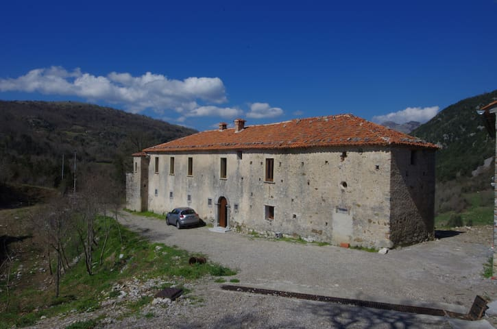 Fantastic ancient Villa in the Wild Cilento
