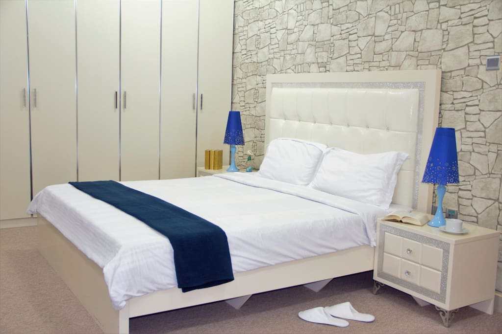 King size bed for your comfort