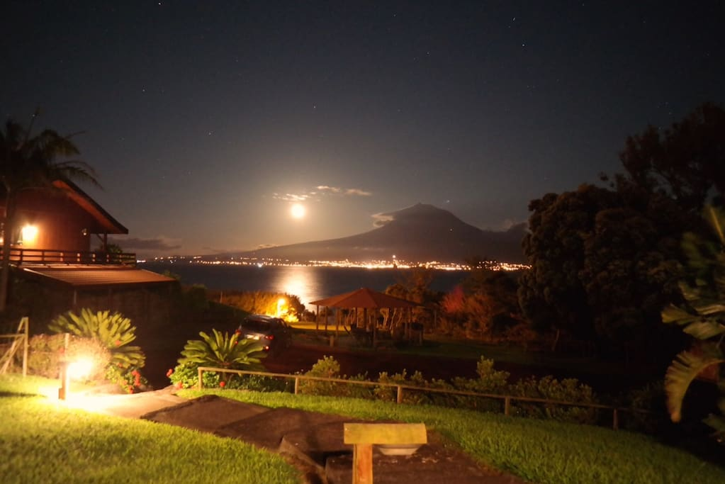 Full Moon over Villa Grota Funda