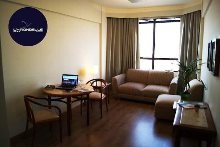 LHIRONDELLE APART HOTEL em CAMPINAS