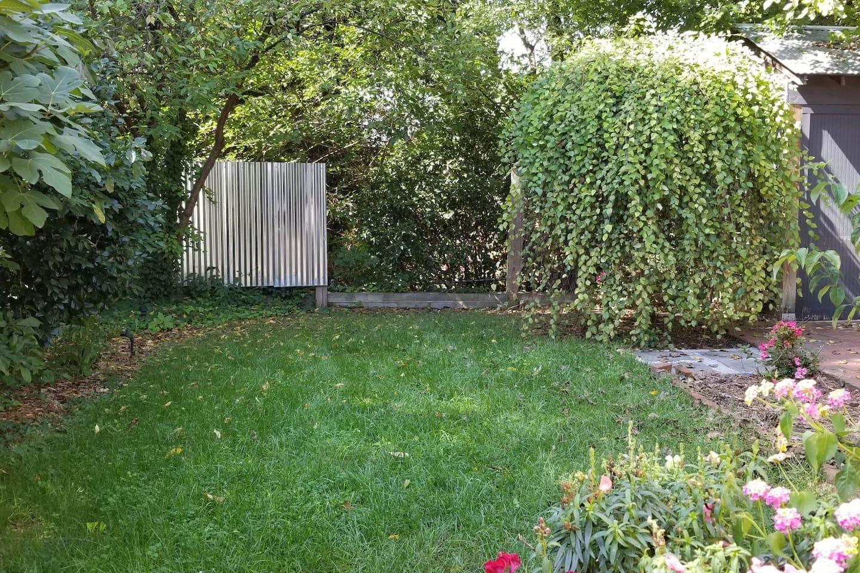 Private back yard / patio