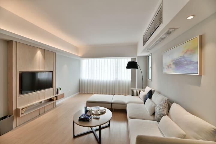 【番禺路+静安寺商圈】75m² 简约温馨可做饭一室一厅公寓