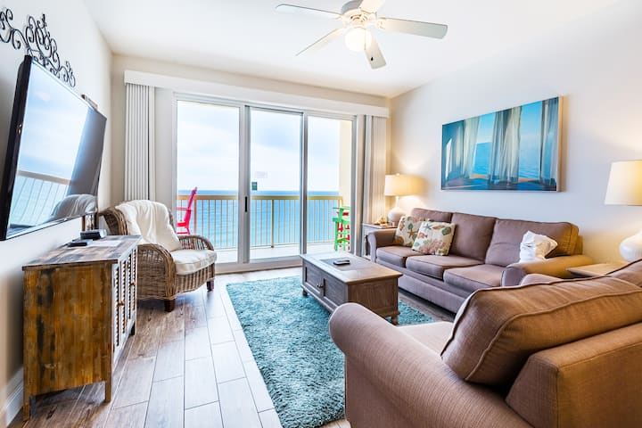 ⭐BeachFRONT⭐2 Beachside Pools⭐Inspected & Disinfected⭐3BR Calypso 2-1504 West